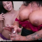 Watch Porno Hub Online – Strokies presents Mature Stepmom Teaches Cute Teen to Give Handjob (MP4, FullHD, 1920×1080)