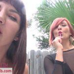 Watch Porno Hub Online – Sarah Diavola, Goddesss Amadahy in Rainbow Spit and Smoke (MOV, HD, 1280×720)